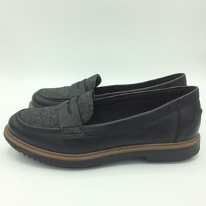Clarks Shoes - New Clarks collection cushion penny loafers gray